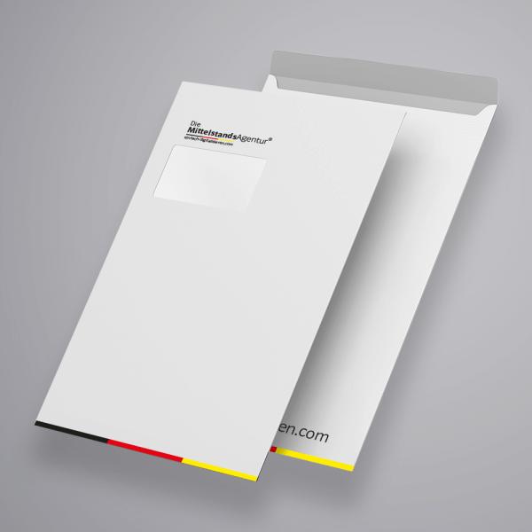 briefumschläge mit logo